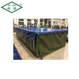 """中国20の"""" 40 """"容器PVC防水シートは保護カバーのためのファブリックに塗った"""