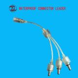 電気コネクタの接合箇所ワイヤー2 Pin LEDのコネクター