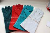 Longs gants de travail de manchette de protection sûre de main pour le fonctionnement de soudure