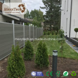 Facile alla rete fissa composita di legno WPC del giardino di alluminio dell'installazione