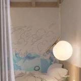 Weiße Farbton-Glaskugel-hängende Lampe