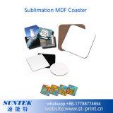 Sottobicchiere in bianco del MDF di sublimazione per stampa di Tranfer di calore