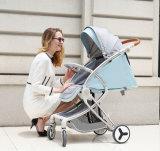 Neuer Entwurfs-Luxuxfalten-BabyPram mit Cer-Bescheinigung