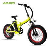 Давление в шинах жира электрический складной велосипед 750W