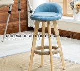 바는 착석시킨다 의자 현대 작풍 단단한 나무로 되는 발판 (M-X2530)를