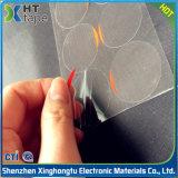 Película protetora Reticulate cortando do silicone de 34mm para o vidro da lente