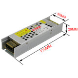 12V 5A 60W Transformador AC/DC de LED de alimentação Comutação Has