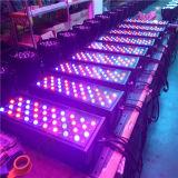 DMX de 72X3W LED de color RGBW ciudad al aire libre