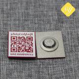 Barato de alta calidad chapado en oro y esmalte de los Premios personalizados Pin como con broche mariposa