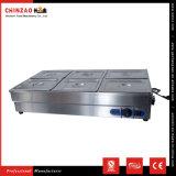 Тип электрическое Bain Мари Sb-6t коммерчески оборудования кухни новый