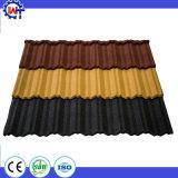 Verschiedene Farbe galvanisierte Stahlstein-überzogenes Metallstahldach-Fliesen