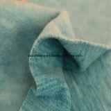 Ватка влияния печатание катиона микро-, ткань куртки (turqueza)