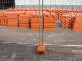 Kundenspezifischer moderner Art-Australien galvanisierter temporärer Zaun