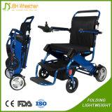 Scooter pliable léger de fauteuil roulant électrique avec la FDA de la CE