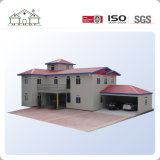 Casa modular Prefab do frame da construção de aço da luz do baixo custo para o edifício Home/escritório