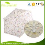 女性のための最も安い広告の5つのフォールドの小型傘