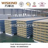 PPGI Colorgold Felsen-Wolle-Zwischenlage-Panel mit guter Isolierung