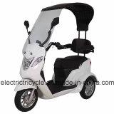Triciclo elettrico Handicapped del motorino per 2 adulti