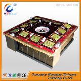 Machine de jeu électronique de gain élevée de roulette d'écran tactile de carte