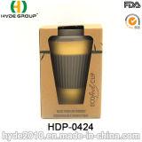 taza de café de bambú respetuosa del medio ambiente de la fibra 450ml para la promoción