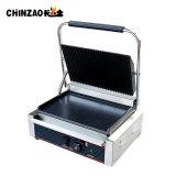 HotplateサンドイッチPaniniのすべての溝があるグリル(CHZ-820A)