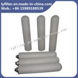 De uitstekende kwaliteit Gesinterde Patroon van de Filter van het Titanium voor Agressieve Vloeistof