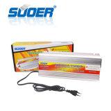A energia solar Invertor Suoer CC 12 V AC 230V 2000W Inversor modificado com 20um carregador (SUA-2000C)