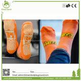 Form kundenspezifische Trampoline-Socke, Gleitschutzknöchel-Yoga-Socken