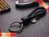 Trousseau de clés en cuir d'unité centrale de véhicule en cuir de trousseau de clés de cadeau