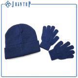 Голубой шлем и перчатки зимы Col оптовые взрослый