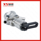 Aço inoxidável SS316L da válvula de amostragem estéril asséptica de soldadura