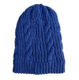 Зимы осени женщин Mens Beanie крышек кабеля Unisex теплый связанный шлем Twisted Braided (HW119)