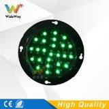 Indicatore luminoso rosso personalizzato del segnale stradale della lampada di verde LED della miscela di 100mm