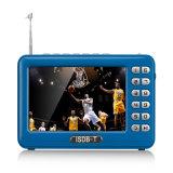 工場価格DVB-T2 4.3のインチLCD携帯用TV