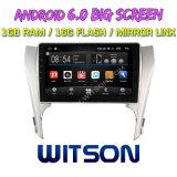 """Witson 10.2 """" Toyota Camry 2012년을%s 큰 스크린 인조 인간 6.0 차 DVD"""