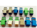 LC/APC Duplex sans adaptateur fibre optique Adaptateur de bride
