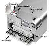 Secador de alta velocidad automático eléctrico de la mano del jet del cuarto de baño AK2030 con el filtro de HEPA, luz UV, CB de RoHS del CE de la UL