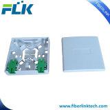 Sortie de plot fixée au mur de fibre optique de FTTH Flk-Ftb-301