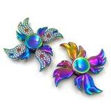 Подарок игрушки цветастого обтекателя втулки руки непоседы формы ветрянки взрослый