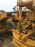 Используемый грейдер кота грейдера мотора гусеницы 140h первоначально