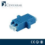 LC aan LC de DuplexKoppeling van de Adapter van de Vezel van het Type van Sc Plastic Optische