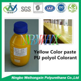 Желтый Colorant PU для тюфяка пены полиуретана