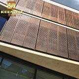 Façade extérieur décoratifs en aluminium panneau en métal perforé