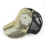 Berretto da baseball di Bling di svago del cappello della visiera delle donne di estate con il marchio di Customed