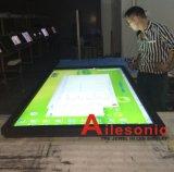 75 의 1개의 간이 건축물 모니터 LCD 접촉 스크린에서 85 인치 잘 고정된 LCD Touchscreen 전부