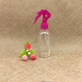 150ml vident la bouteille en plastique ronde de pulvérisateur de cylindre d'animal familier de couleur