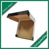 Rectángulo acanalado de la insignia de la cartulina de encargo de la impresión, rectángulo de almacenaje barato