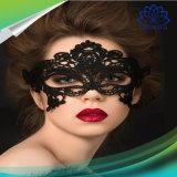 Mascherina del merletto della signora Black Sexy signora Eye delle donne delle ragazze di Halloween per il partito
