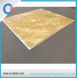 25cm flacher Belüftung-Panel-Gelb-Marmor-heiße stempelnde Decke und Wand