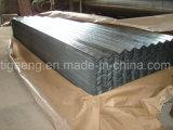 Tuile de toiture en acier galvanisée ridée de bonne qualité pour l'Ethiopie